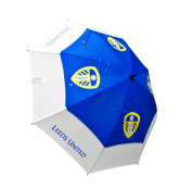 Leeds United Tour Vent Golf Umbrella - Blue/White
