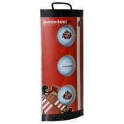 Sunderland AFC 3 Pack Golf Ball Gift Set
