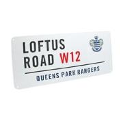 Queens Park Rangers FC. 'Loftus Road' Metal Street Sign