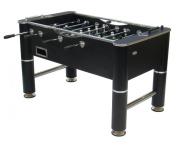 Gamesson Liverpool Table Football - Black/chrome, 140 x 76 x 86 cm