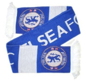 Chelsea Bar Scarf - Royal/White - One Size Only