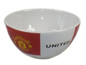 Manchester United Football Cereal Bowl