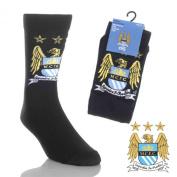 Manchester City FC. Mens Socks - Size 6-11
