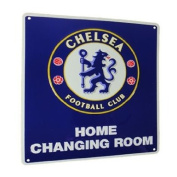 Chelsea FC Home Changing Room Metal Sign - Licenced Merchandise