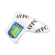 Aston Villa FC Blade Golf Putter Cover - White/Claret/Blue