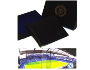 Official Chelsea Fc Leather Wallet Stadium Detail Executive Gift