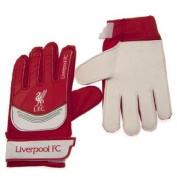 Official Liverpool FC Goalkeeper Gloves - A great gift / present for boys, sons, friends, for Christmas, Birthdays, Valentines Day or just as a treat for and avid football fan