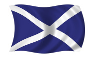 Scotland Scottish 5ftx3ft Large Flag With 2 Metal Eyelets