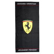 Ferrari Scudetto towel black