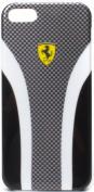 Ferrari iPhone 5 carbon case black/grey