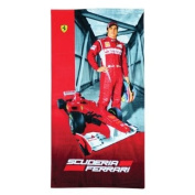 Ferrari Alonso beach towel