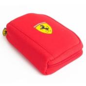 Ferrari wallet red