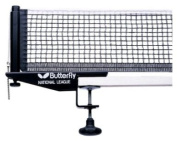Butterfly National League Table Tennis Net & Post Set 11303