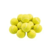Good Quality New Yellow Tennis Ball - Great For Dog Toys, Cricket, Beach etc.
