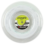 Babolat Synthetic Gut Tennis String 200m Reel White