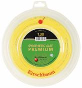 Kirschbaum Synthetic Gut Premium Tennis String 200m Reel Gold