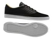 Adidas Originals ADI MC LO Men's Leather & Suede Black Trainers - UK 6