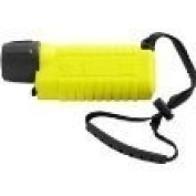 UK SL4 eLED 400 Lumens Hand Held Torch Complete with Wrist Lanyard. Yellow
