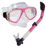 Scuba Diving Snorkelling Purge Mask & Dry Snorkel Set