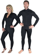 Storm Black Lycra Dive Skin for Scuba Diving, Snorkelling and Water Sports