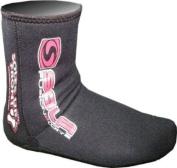SOLA Fin Socks. 3mm Neoprene Wetsuit sock for bodyboard or snorkelling fins / flippers. Full Range Of Sizes