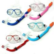 Kids Mask Snorkel PVC Diving Set - Scuba Dive Snorkelling Sets