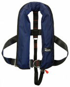 Bluewave 150N Harness Navy Automatic Lifejacket