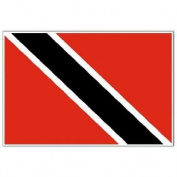 Trinidad and Tobago Flag 1.5m x 0.9m - 70 Denier