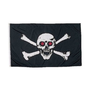 Rin - 3'X5' Pirate Flag Jolly Rodgers
