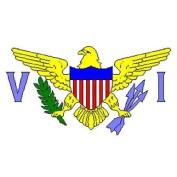 Virgin Islands American Flag 1.5m x 0.9m