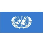 United Nations Flag 1.5m x 0.9m