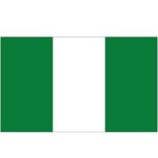 Nigeria Flag 1.5m x 0.9m - 70 Denier