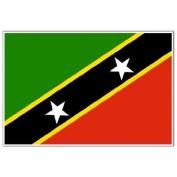 St Kitts and Nevis Flag 1.5m x 0.9m - 70 Denier