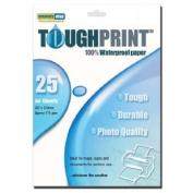 Memory-Map Toughprint Waterproof Paper - Inkjet - 25 A4 Sheets