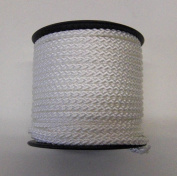 8 Plait Std Polyester Cord - 2 or 3mm - Black or White