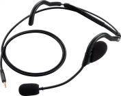 Icom Headset With Boom Mic - Black