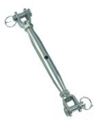 2x Stainless Steel 8mm Rigging Screws-Turnbuckles