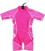 Zunblock Hibiscus Children's UV-Protective Clothing Sun Suit - ,