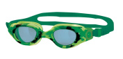 Zoggs Boy's Little Comet Camoflage Swimming Goggles - Green, 2-6 Years