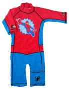 Swimpy Boy's Spiderman UV Swimsuit - Red/Blue, 3-4 Years