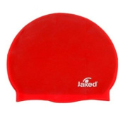Jaked Silicone Swim Cap Red