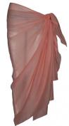 Plain Light Pink Cotton Sarong