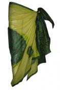 Green Sarong with Bandana Design