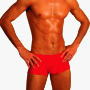 Mens New Solid Hot Body Boxer Swimsuit Gary Majdell Sport