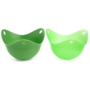 2pc Set of Silicone Egg Poaching Pods