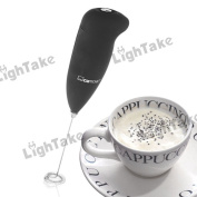 Electronic Stainless Milk Coffee Foam Shaker Frother Whisk Mixer Eggbeater Battery Operated Kitchen Tools