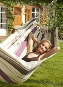 La Siesta Caribena single hammock plus purple hammock