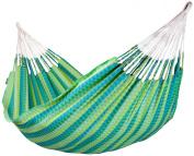La Siesta Carolina Double Hammock plus green hammock