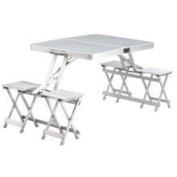 Easy Camp Dijon grey camping table