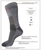 eXPANSIVE TREKKING HIKING X-LINE SOCKS CoolMax GREY GRAPHITE size UK 2.5-5